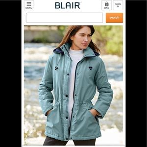 BLAIR Microfiber Weather Resistant Jacket